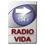 Logo da emissora Radio Vida 104.3 FM