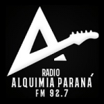 Logo da emissora Radio Alquimia 92.7 FM