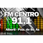 Logo da emissora Radio Centro 91.1 FM
