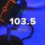 Logo da emissora Radio Luz 103.5 FM