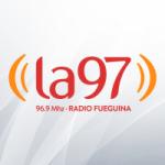 Logo da emissora Radio Fueguina 96.9 FM
