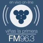 Logo da emissora Radio Viñas 96.3 FM
