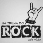 Logo da emissora Na Trilha do Rock Web Rádio