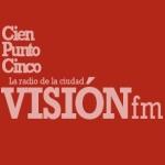 Logo da emissora Radio Visión 100.5 FM