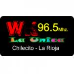 Logo da emissora Radio La Unica 96.5 FM