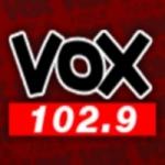 Logo da emissora Radio Vox 102.9 FM