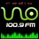 Logo da emissora Radio Uno 100.9 FM