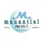 Logo da emissora Radio Manantial 93.7 FM