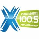 Logo da emissora XRadio 100.5 FM