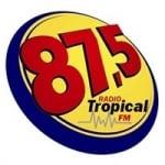 Logo da emissora Rádio Tropical 87.5 FM