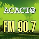 Logo da emissora Radio Acacia 90.7 FM