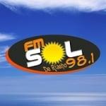 Logo da emissora Radio Sol 98.1 FM