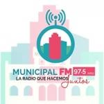 Logo da emissora Radio Municipal 97.5 FM
