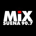 Logo da emissora Radio Mix Suena 90.7 FM