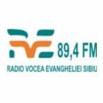 Logo da emissora Vocea Evangheliei 89.4 FM