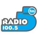 Logo da emissora Radio 5 100.5 FM