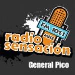 Logo da emissora Radio Sensación 101.1 FM