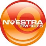 Logo da emissora Radio Nuestra 107.5 FM