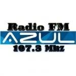 Logo da emissora Radio Azul 107.3 FM