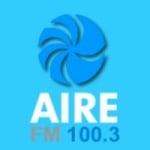 Logo da emissora Radio Aire 100.3 FM