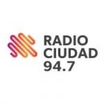 Logo da emissora Radio Ciudad 94.7 FM