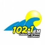 Logo da emissora Radio Cadena de la Costa 102.1 FM