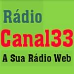 Logo da emissora Rádio Web Canal 33