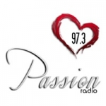 Logo da emissora Radio Passion 97.3 FM