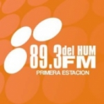 Logo da emissora Radio del Hum 89.3 FM