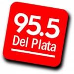 Logo da emissora Radio del Plata 95.5 FM
