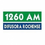 Logo da emissora Radio Difusora Rochense 1260 AM