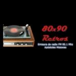 Logo da emissora Radio 80x90 Retro 95.1 FM