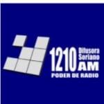 Logo da emissora Radio Difusora Soriano 1210 AM