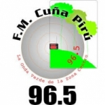 Logo da emissora Radio Cuña Pirú 96.5 FM