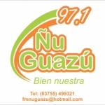 Logo da emissora Radio Ñu Guazú 97.1 FM
