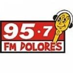 Logo da emissora Radio Dolores 95.7 FM