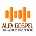 Logo da emissora Rádio Alfa Gospel