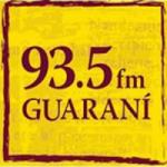 Logo da emissora Radio Guarani 93.5 FM