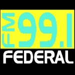 Logo da emissora Radio Federal 99.1 FM