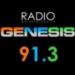Logo da emissora Radio Genesis 91.3 FM