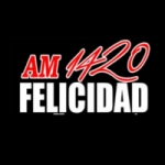 Logo da emissora Radio Felicidad 1420 AM