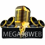 Logo da emissora Mega 98 Web