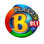 Logo da emissora Rádio Balaiada 91.1 FM