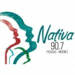 Logo da emissora Radio Nativa 90.7 FM