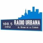 Logo da emissora Radio Urbana 100.5 FM