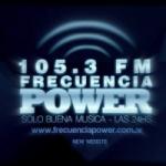 Logo da emissora Radio Frecuencia Power 105.3 FM