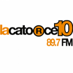 Logo da emissora Radio LaCatorze10 89.7 FM