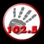 Logo da emissora Radio First 102.5 FM