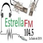 Logo da emissora Radio Estrella 104.5 FM