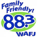 Logo da emissora Radio WAFJ 88.3 FM